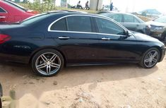 Foreign Used 2017 Mercedes-Benz E300 Black Colour
