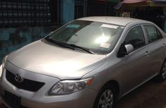 Tokunbo 2009 Toyota Corolla 1.6 Advanced Silver Colour