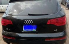 Very Clean Nigerian used Audi Q7 2007 3.6 Black