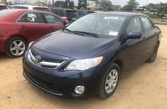 Toyota Corolla 2013 Blue