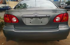 Very clean Tokunbo Toyota Corolla 2003 Sedan