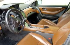 Foreign Used 2010 Acura ZDX Gray Colour