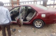 Nigerian Used 2009 Toyota Corolla Red Colour