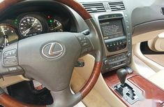 Foreign Used 2008  Lexus GS 350 Blue Colour