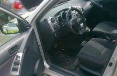 A very clean Nigeria Toyota Matrix 2001 Silver