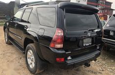 Foreign Use 2005 Black Toyota 4-Runner V6 Limited Edition