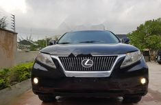 Best priced used grey  2010 Lexus RX automatic in Lagos