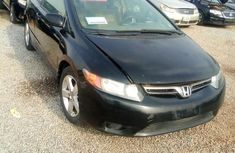 Neat Nigerian used Honda Civic 2006 Black