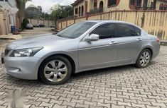 Foreign Used 2010 Silver Honda Accord Car