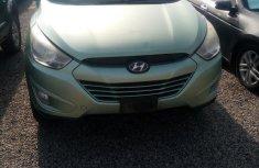 Neat Nigerian used Hyundai ix35 2012 Green