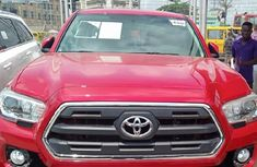 Sell cheap red 2017 Toyota Tacoma automatic at mileage 0