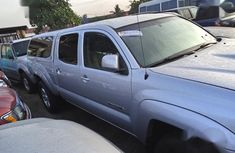 Very Clean Tokumbo Toyota Tacoma Double Cab 4x4 2008 Silver