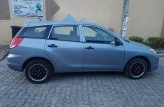 Best priced blue 2003 Toyota Matrix hatchback automatic in Lagos