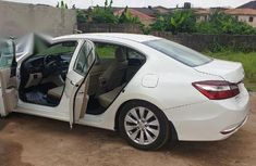 Foreign Used 2015 White Honda Accord