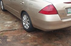 Nigerian Used 2008 Honda Accord Gold Colour