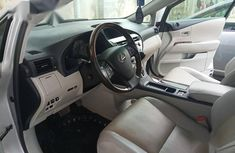 Nigerian Used 2010 Lexus RX 350 Silver Colour Car