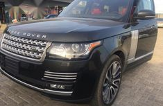 Neat Foreign used Land Rover Range Rover Vogue 2017 Black