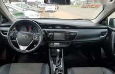 Foreign Used 2015 Toyota Corolla Gray Colour