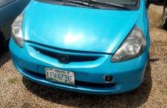 Very clean Nigerian used Honda Jazz 2004 Blue