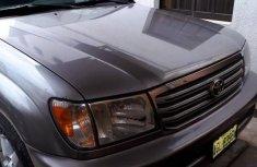 Neat Nigerian used Toyota Land Cruiser 2007 Silver