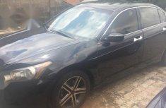 Nigerian Used Black Honda Accord 2010 Model