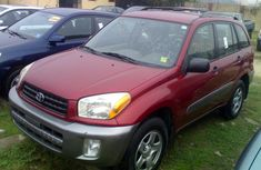 Foreign Used 2002 Toyota Rav4 in Nigeria
