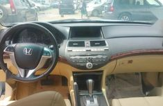 Foreign Used 2010 Honda Accord Cross Tour Gray Colour