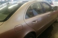 Well Maintained Nigerian used Mercedes-Benz E320 2003 Gold