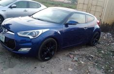 Clean Nigerian used Hyundai Veloster 2015 Blue