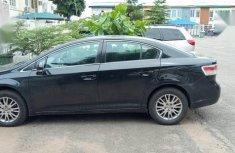 Neat Nigerian used Toyota Avensis 2010 2.0 Advanced Black