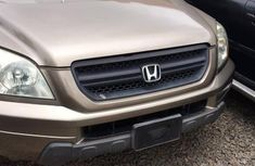 Neat Foreign used Honda Pilot 2003 EX 4x4 (3.5L 6cyl 5A) Gold