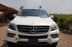 Super Clean Foreign used Mercedes-Benz M Class 2013 White