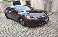 Need to sell high quality black 2016 Honda Accord at price ₦5,500,000 in Lagos