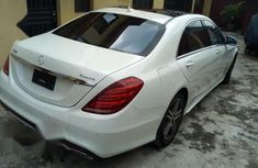 Clean Tokunbo Mercedes-Benz S Class S550 2015 White