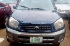 Sell blue 2004 Toyota RAV4 suv / crossover automatic at mileage 0