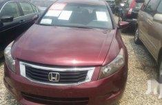 Neat Nigerian used Honda Accord 2008 Red