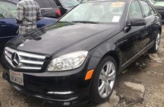 Selling black 2010 Mercedes-Benz C300 automatic at price ₦4,300,000