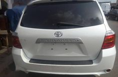 Foreign Used 2011 Toyota Highlander Sport Edition Silver Colour