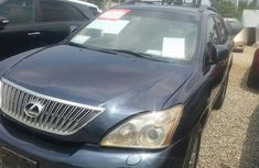Well Maintained Nigerian used  Lexus RX 2004 Black