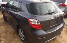 Neat Foreign Used Toyota Matrix 2009 Gray