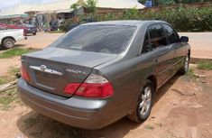 Clean Foreign used Toyota Avalon 2004 XL Gray