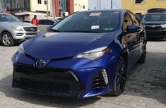 Clean Foreign used Toyota Corolla 2017 Blue