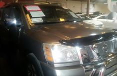 Neat Foreign used Nissan Armada 2006 Gray