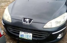 Fairly Nigerian used Peugeot 407 2009 Black