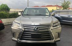 Sell used gold 2016 Lexus LX suv / crossover at price ₦39,500,000