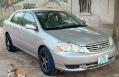 Very Clean Nigerian used Toyota Corolla 1.8 TS 2004 Gold