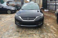 Foreign Used Black Honda Accord 2015 Model