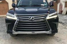 Very neat Foreign used Lexus LX 2017 Black