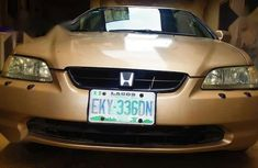 Well Maintained Nigerian used Honda Accord 2002 Gold
