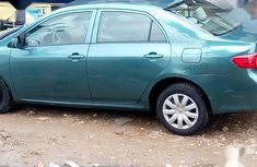 Clean Foreign used Toyota Corolla 2008 Green